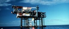 oil drilling in ocean